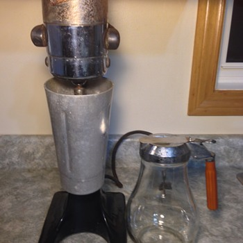 Milkshake Mixer With Syrup Jug & Cup  - Kitchen