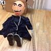paper mâché puppet