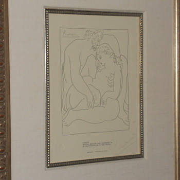Pablo Picasso lithograph   - Posters and Prints