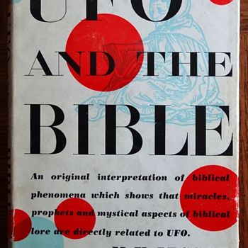 UFO and the Bible by Morris K. Jessup