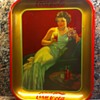 "Coca Cola ""hostess girl"" tray"