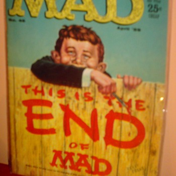 MAD #46, MAD #54, MAD #72, MAD #73 - Comic Books