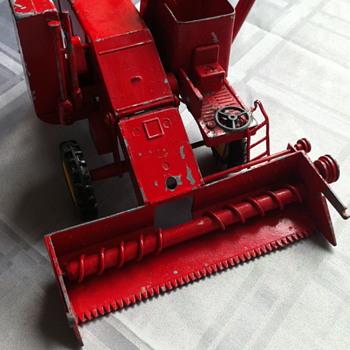 Red Massy Ferguson toy. - Toys