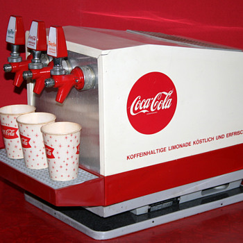 Coca cola soda fountain - Coca-Cola