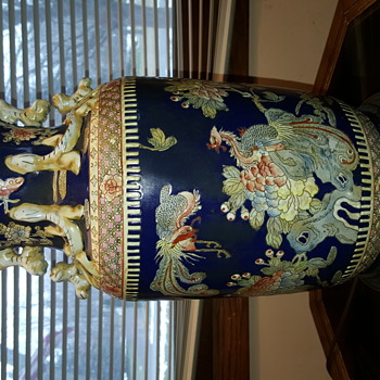 Oriental Lamp, Thrift Store Find!