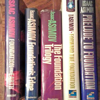 My Isaac Asimov Foundation series collection