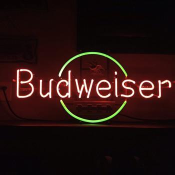 Budweiser Neon  - Breweriana