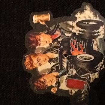 "Stray Cats 7"" shaped picture disc and some others - Records"
