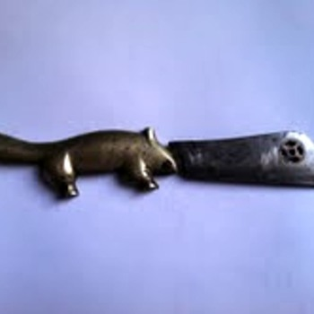Brass Beaver Knife  - Tools and Hardware