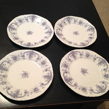 Savoy Royal Semi Porcelain Plates