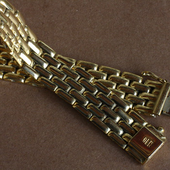 18c gold FOPE bracelet - Fine Jewelry