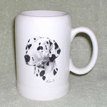 Dalmatian Ceramic Mug - Kitchen
