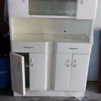 Metal kitchen hutch - Furniture