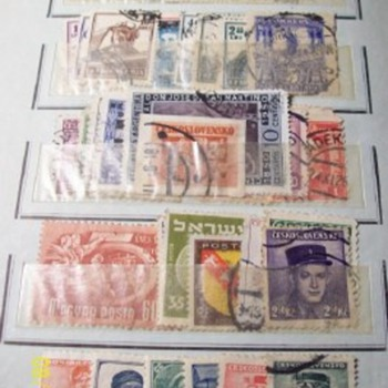 Stamps from the old album