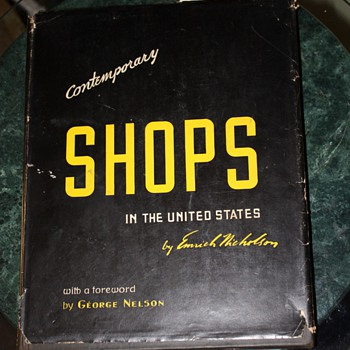 Contemporary Shops in the United States by Emmrich Nicholson - Books