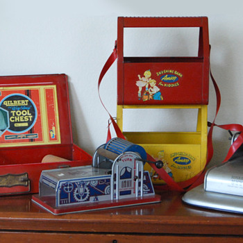 Boy's Role Play Toys of the 40s and 50s.