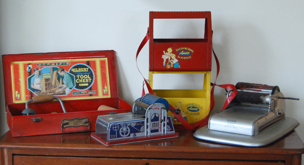 Toys From The 40s : Boy s role play toys of the and collectors weekly