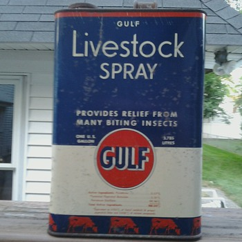Gulf Livestock Spray - Petroliana