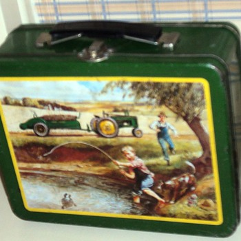 Vintage John Deere Lunch Box - Kitchen