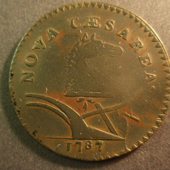 1787 New Jersey colonial coin