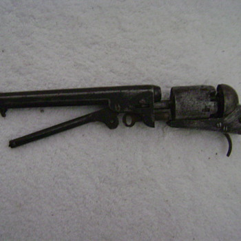 Old Cap and ball pistol