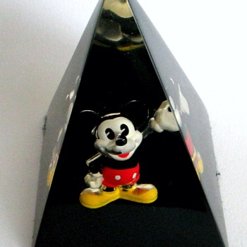 Mickey Mouse Acrylic Pyramid Paperweight