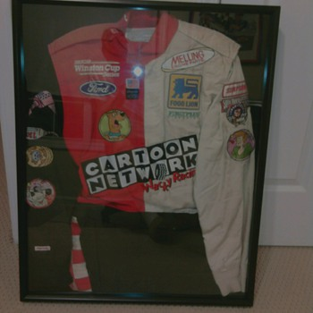 Cartoon network Firesuit for pit crew 1998 vintage