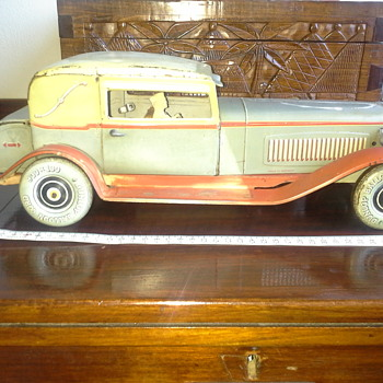 German vintage tin model