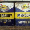 2 gallon sunoco cans
