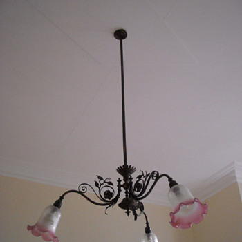 Ceiling Light Fixture - Lamps