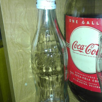 Clear Coca-Cola Bottle