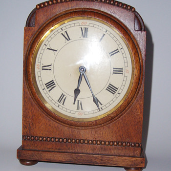 My  H.A.C. Wooden Clock