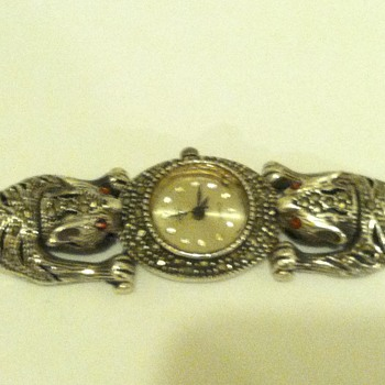 This watch belonged to my grandma and I love it but don't know by who or when it was made  - Wristwatches