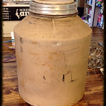 Old stoneware Jar - Pottery