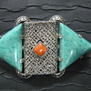 Art Deco Amazonite Pin/Brooch Fahrner?