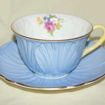 Cup and Saucer:  Shelley