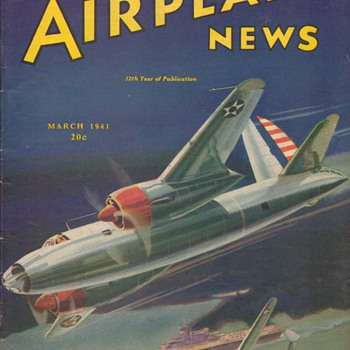 1941 - Model Airplane News magazine - March - Paper