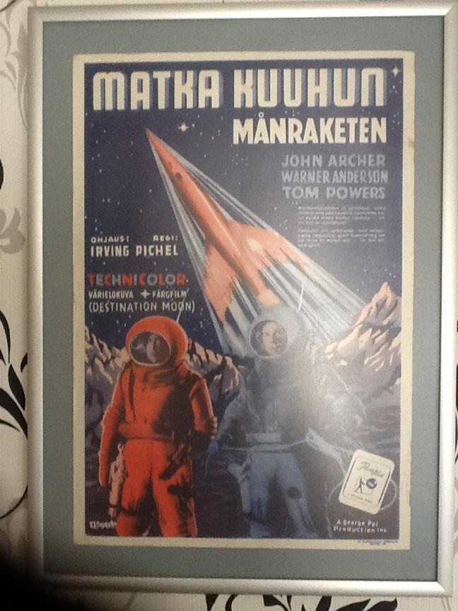 destination moonmovie poster collectors weekly