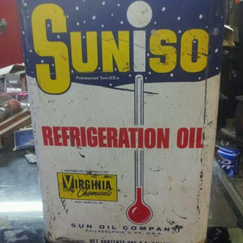 one gallon sunoco can