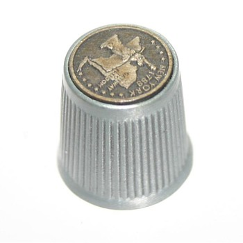 Thimble - New York 1788 - Gateway to Freedom - Need help to identify - Sewing