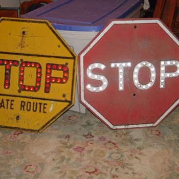 stop signs - Signs