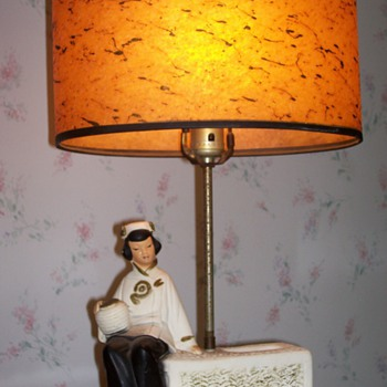 Asian table lamps