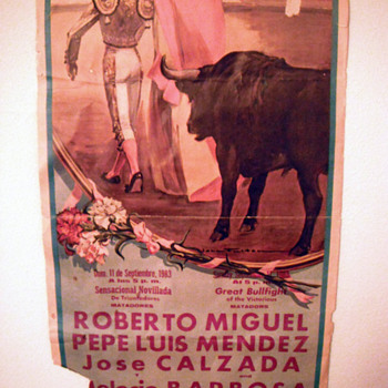 Bullfighting Poster - Advertising
