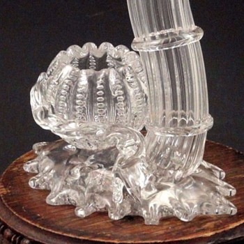 "Victorian Stevens and Williams ""Jewel"" Applied Centerpiece - Art Glass"