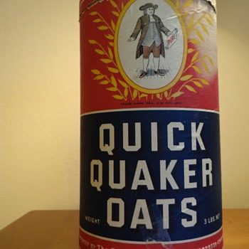 QUICK QAUKER OATS -USA / DATES 1930'S - Advertising