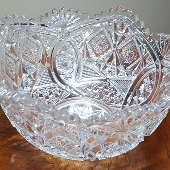 Large Glass Bowl - Glassware