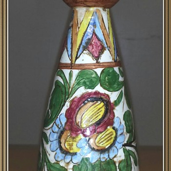 Italian Vase.....I feel like I hit the jackpot on this little vase.... - Art Pottery