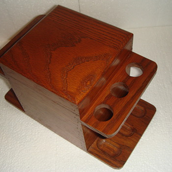 Wood Humidor for Pipes and Tobacco - Unknown date. - Tobacciana