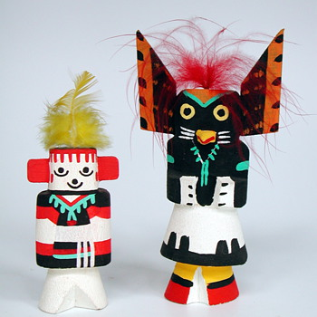 Kachina Dolls - Native American