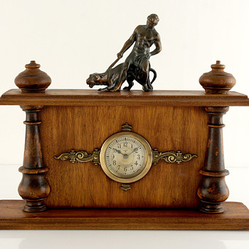 Mauthe Historism Clock, Late 1800&#039;s, Koln Germany